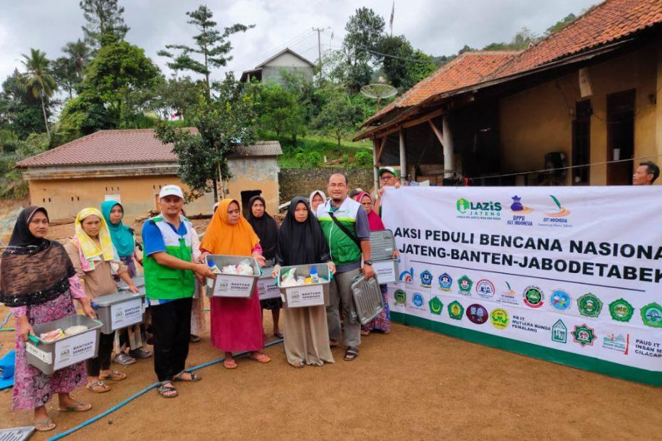 Bantuan Sembako untu Lebak Banten